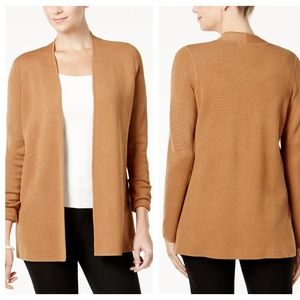 Charter Club's Petite Open-Front Cardigan NWT